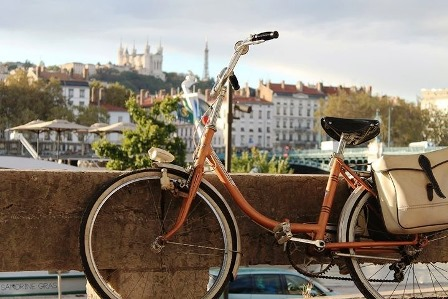 Lyon-France-Bycicle