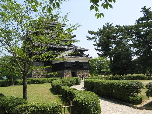 Japan summer fortress