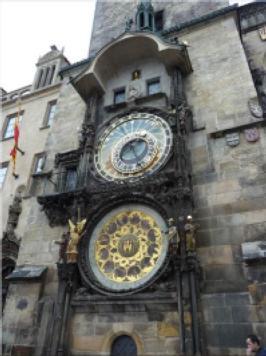 USAC - Astronomical clock in Prague