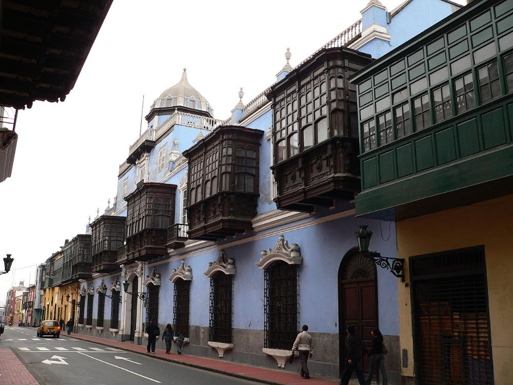 CONHI - Lima Colonial Street