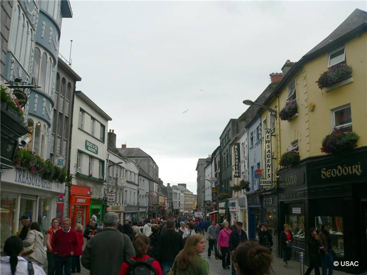 USAC - Galway downtown
