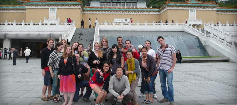 CIEE Shanghai students