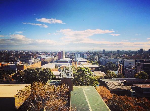 UNSW from above