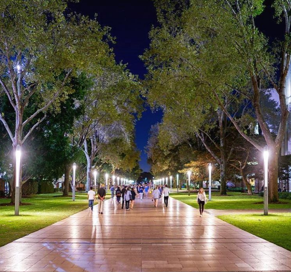 UNSW at night