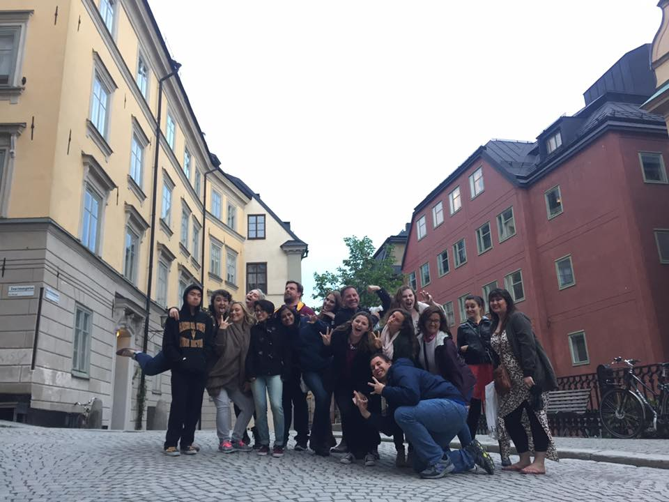 2016 Group in Stockholm
