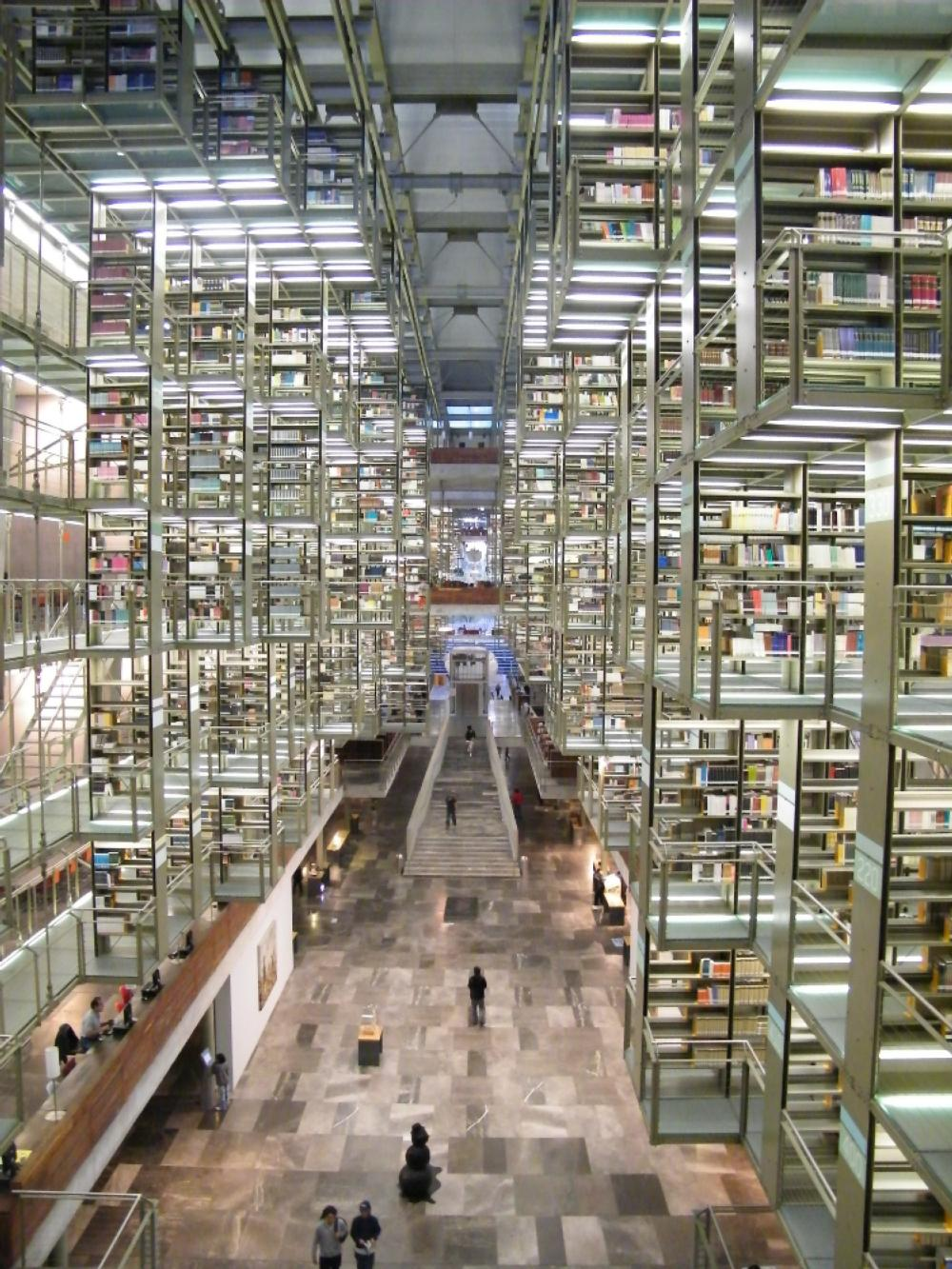 UNAM Inside Library