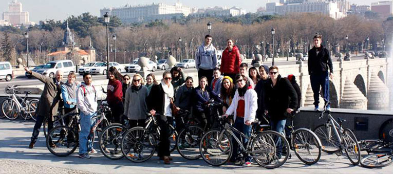 CIEE - Madrid Biking Group