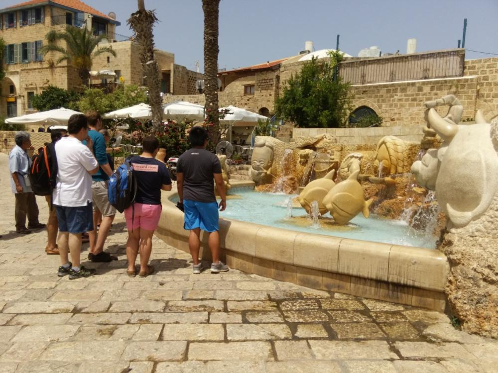 Fountain with Jaffa