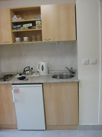 Kitchen in Student Housing